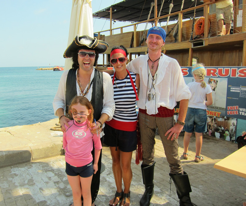 Pirate cruise in Cyprus