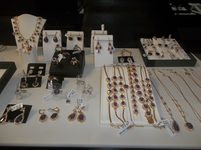 Jewelry in ICDC in Limassol