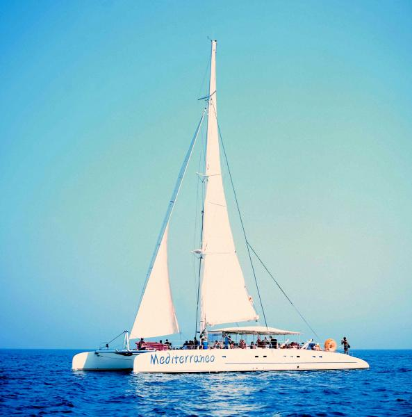 Catamaran cruise in Cyprus