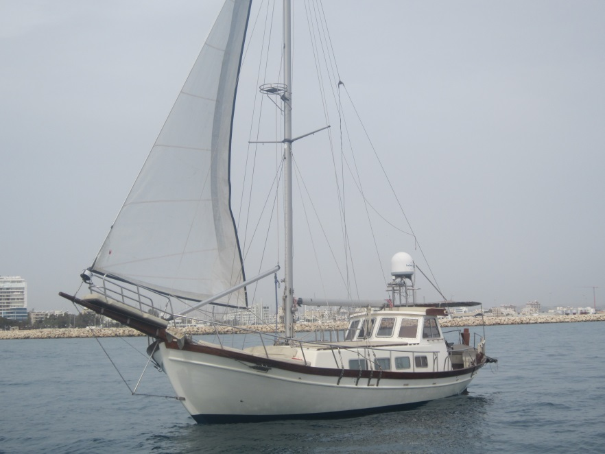 greek sailing boat for rent in cyprus