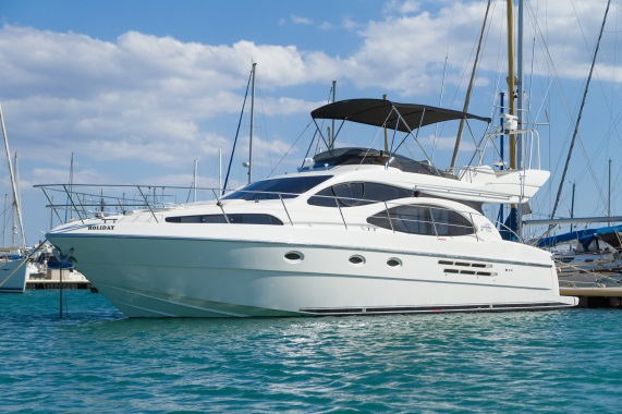 azimut 46 full view