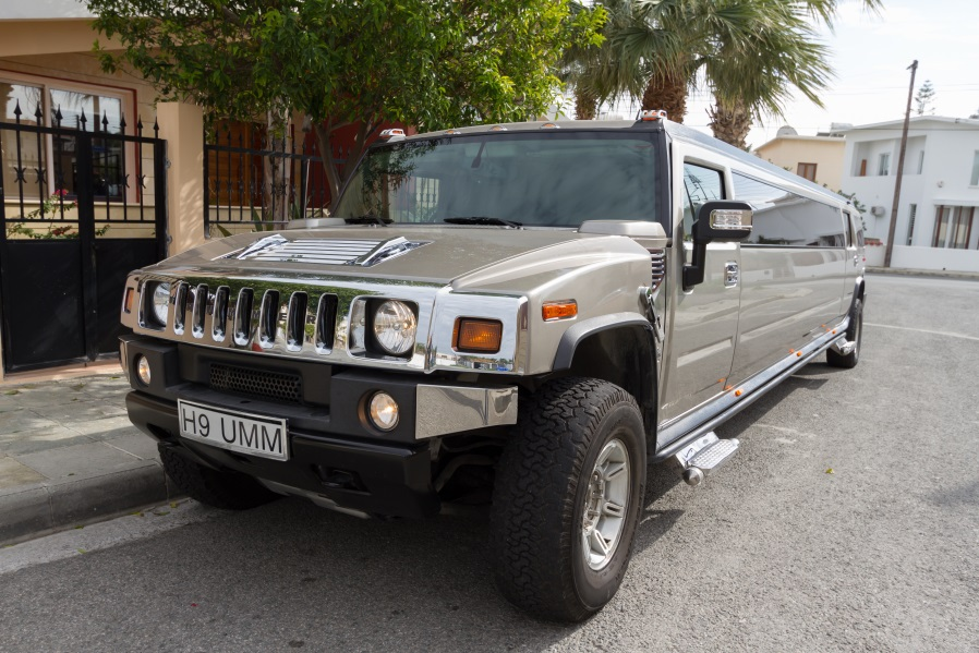 Limousine Hummer for private excursions in Cuprus