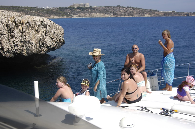 Boat safari in Cyprus