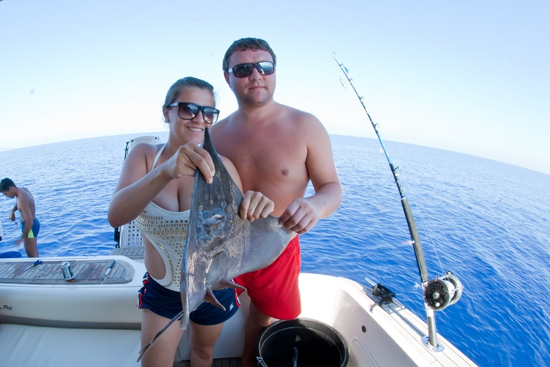 Deep sea fishing in Latchi