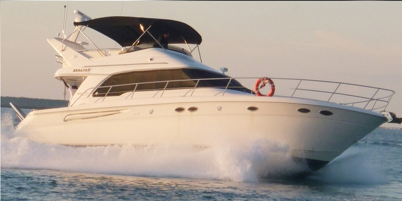 Sea Ray 52 yacht in Сyprus