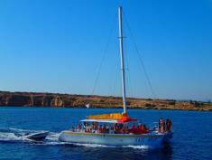 catamaran party cruise in cyprus