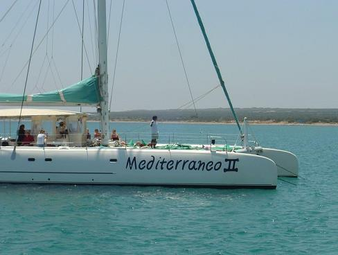 Catamaran for rent in Cyprus