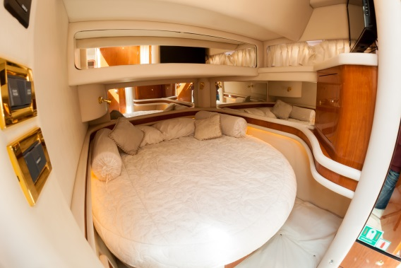 sea ray, bedroom, yacht in Cyprus