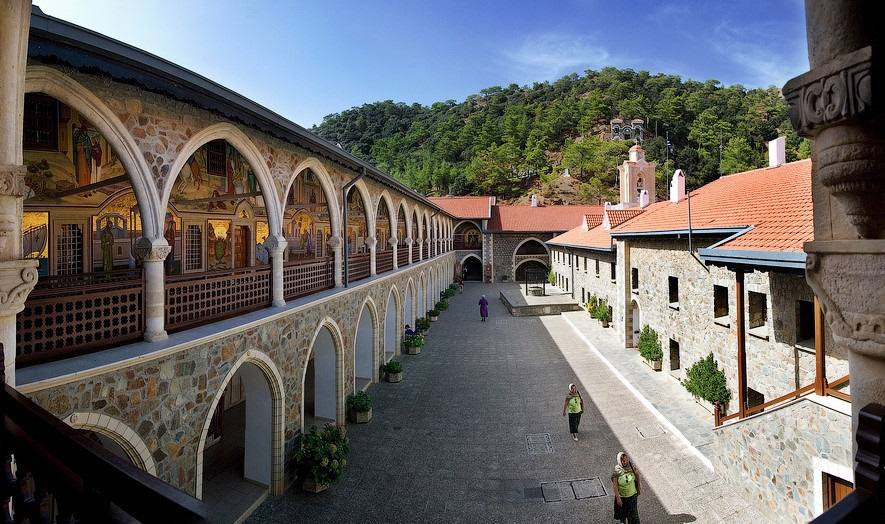 Kykkos Monastery in Troodos mountains