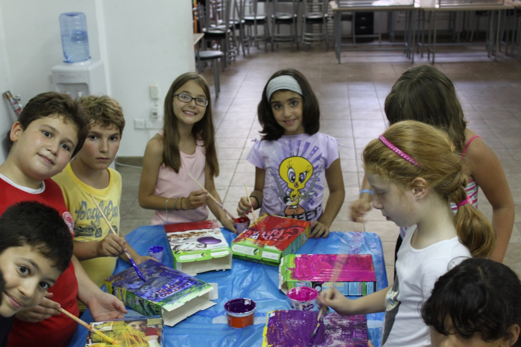kids camp in Cyprus, activities