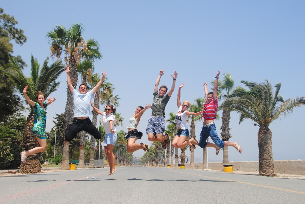 IELTS courses in Cyprus, students at finikudes