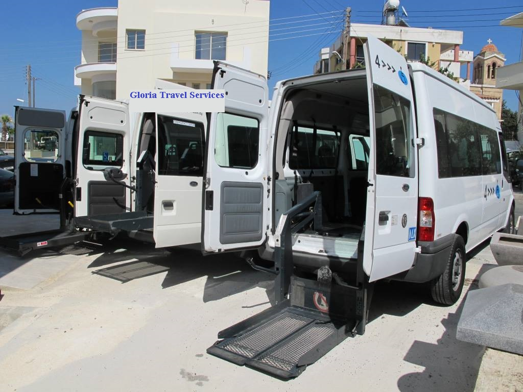 buses for disabled in Cyprus