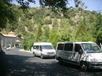 buses for disabled, mountains trip in Trodos