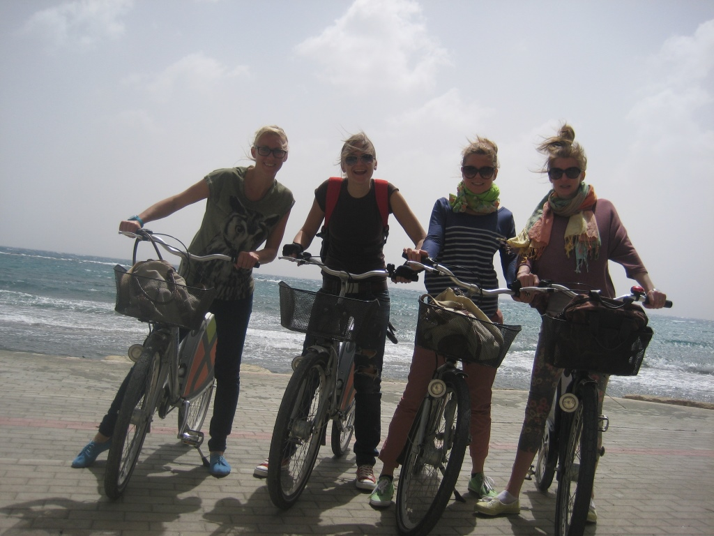 bicycle ride in Limassol