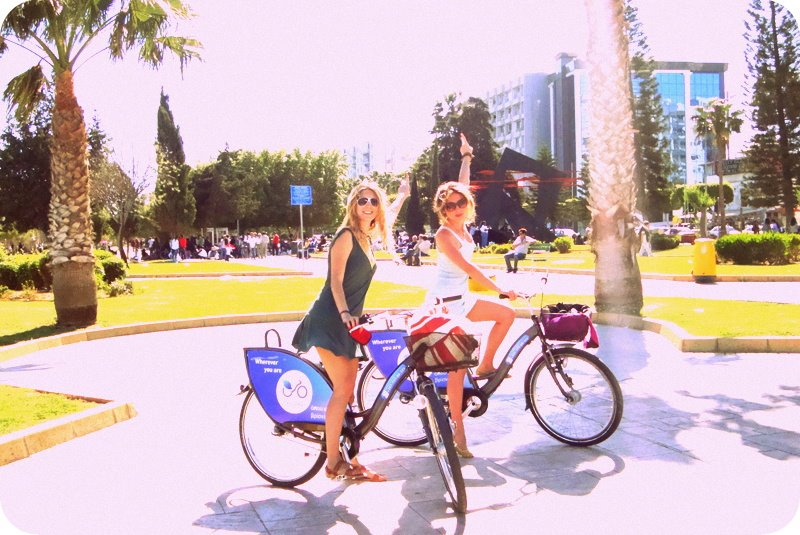 Limassol by bicycles