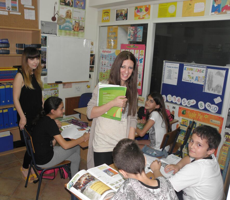 kids camp in Limassol, classrooms