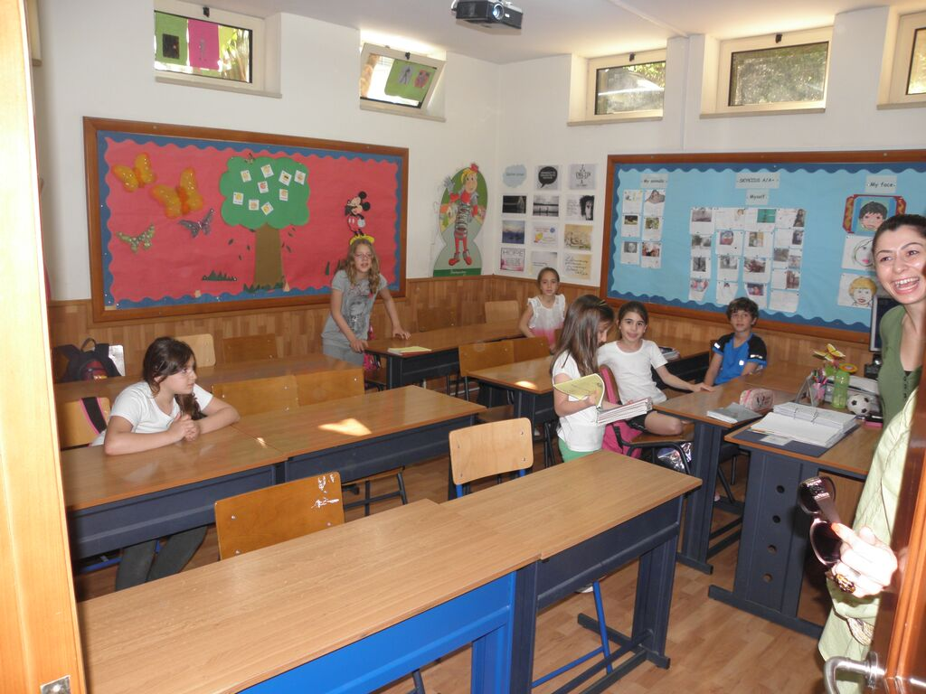 family camp in Cyprus, classrooms