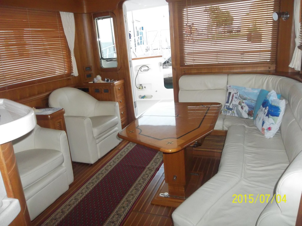 Comfortable yacht for rent in Limassol