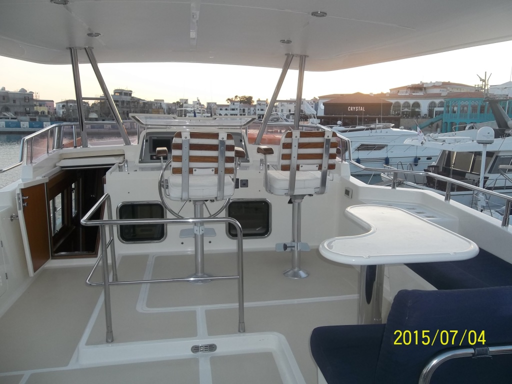 Comfortable classic yacht for rent in Limassol