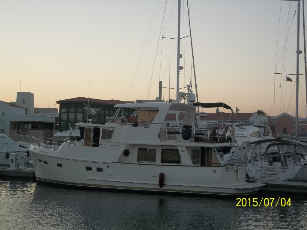 yacht for rent in Limassol, full view