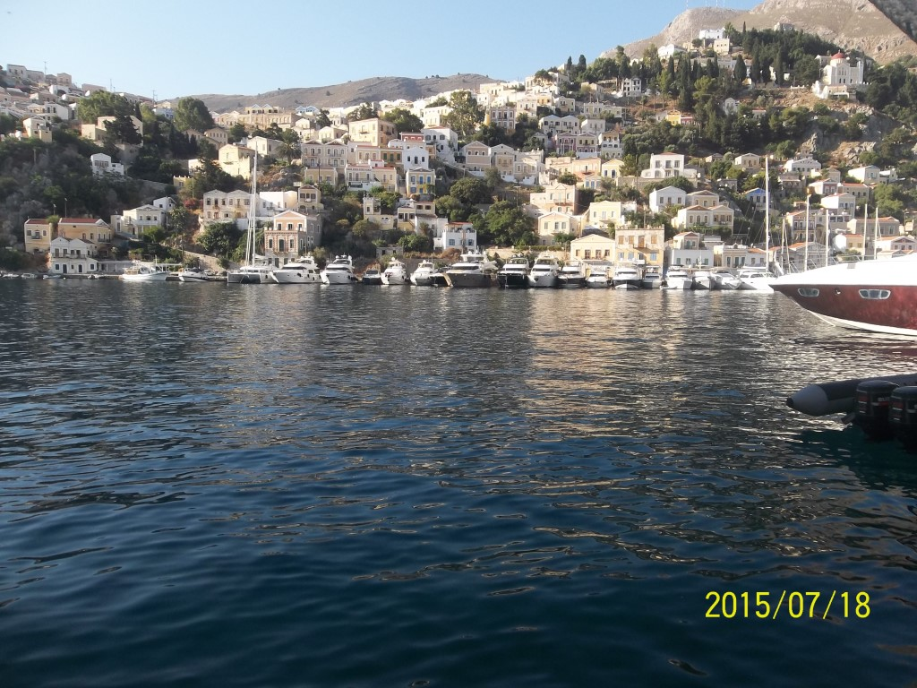 Private boat trip to Greek islands