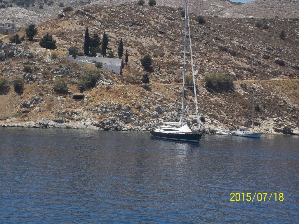 Vacation on sailing yacht, Cyprus