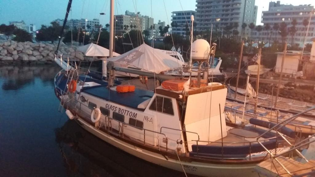 Sailing boat for rent in Larnaca
