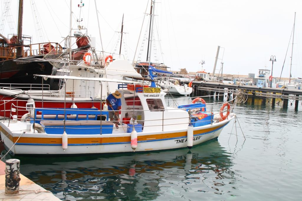Fishing boat rental in paphos for Fishing boat rental