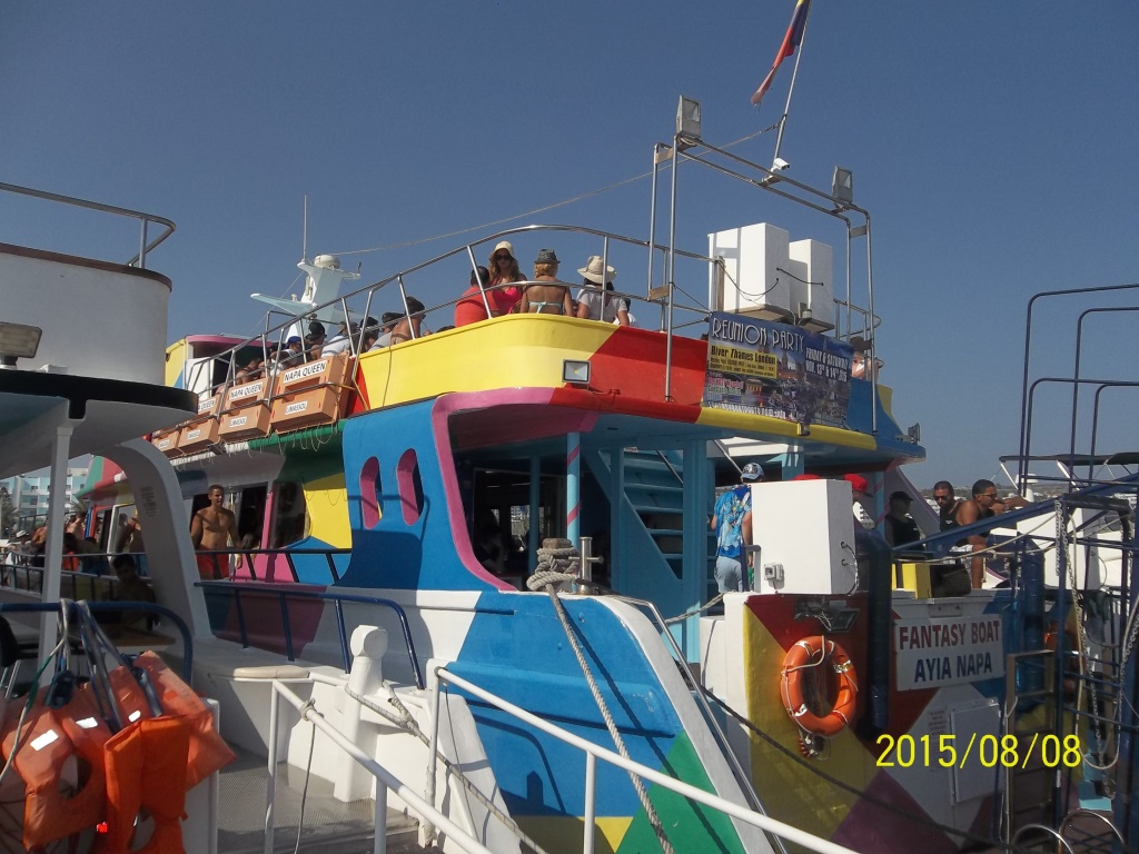 fantasy boat for rent in Ayia Napa